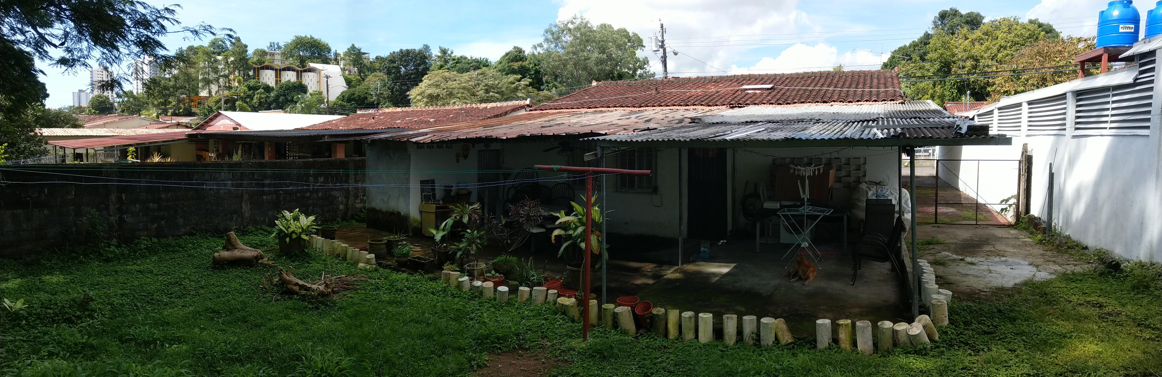 Haus Rückseite