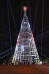 LED Weihnachtsbaum mit wechselnder Beleuchtung