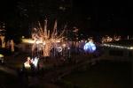Festbeleuchtung Park